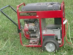what causes a portable generator to surge??