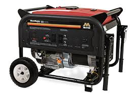 how to clean generator dirty power